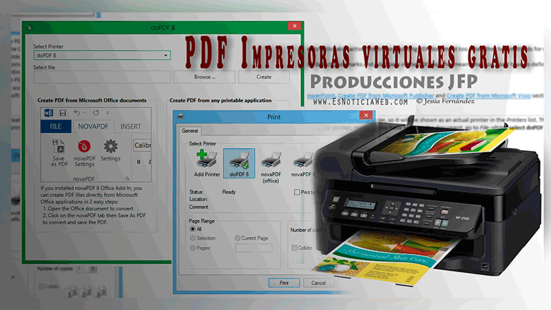PDF Impresoras virtuales gratis