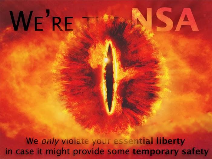 NSA ist Sauron
