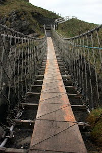 Rope Bridge in Ireland