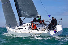 J/111 Blur sailing Spi Ouest France regatta