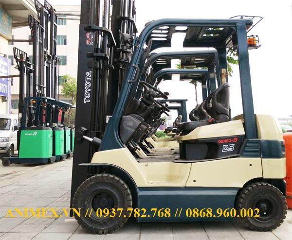 Xe nâng điện Toyota 7FB15 7FB20 7FB25