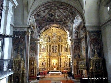 Interior de la Iglesia de la Asunción en Labastida