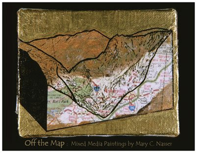 Off the Map: The mixed media art of Mary C. Nasser