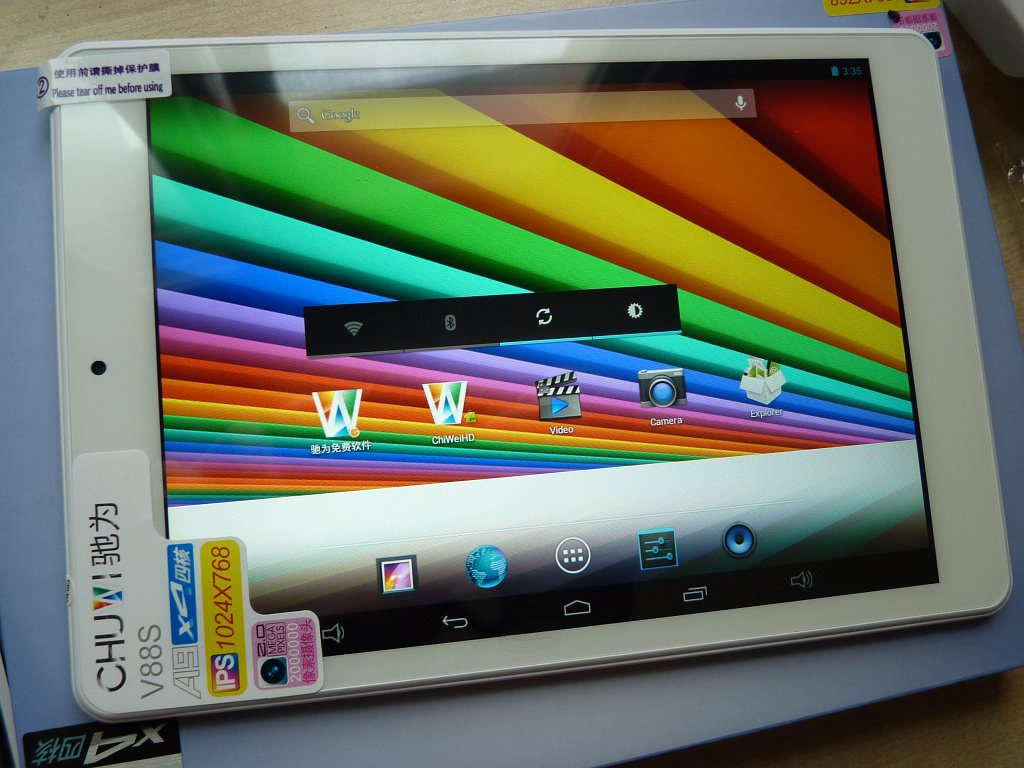 Chuwi V88S - iPad mini clone Android 4 4 2 review with