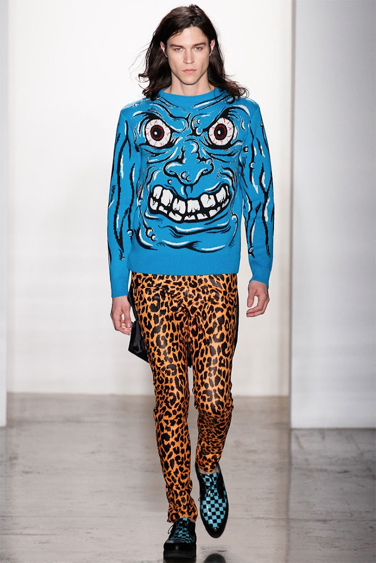 How to Mix Prints: Jeremy Scott AW13