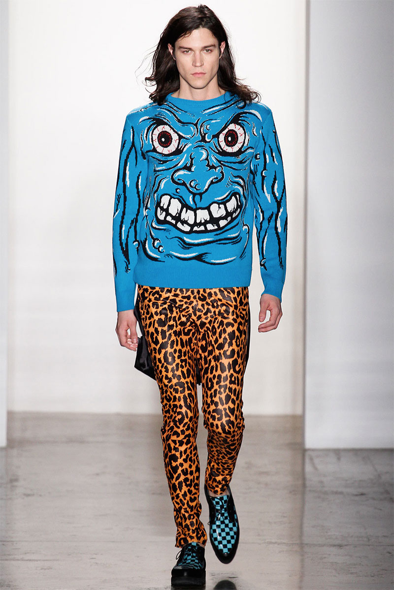 How to Mix Prints: Jeremy Scott AW13 [men's fashion]