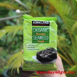 Rong biển sấy khô Kirkland sản phẩm Organic của Mỹ