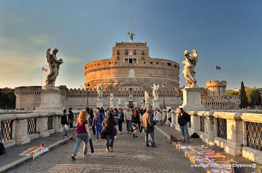 Замок Ангела, Рим