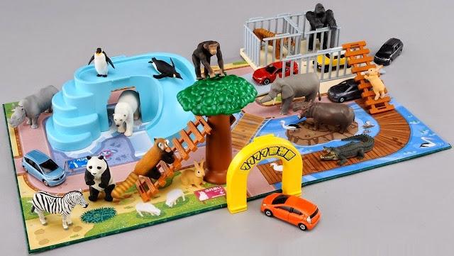 Mô hình Takara Tomy Ania Playset exciting animal là món đồ chơi mang tính giáo dục cao
