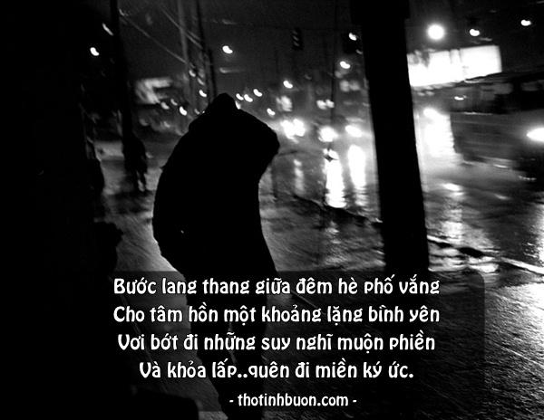 Thơ ngắn Đêm buồn 1 mình, thơ 4 câu Đêm nhớ người yêu hay