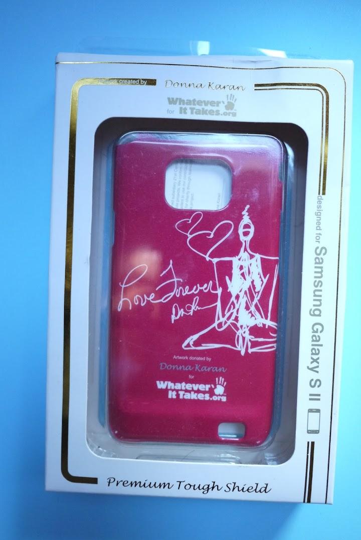 *好康物大贈送:10/15~10/22服裝設計師Donna Karan唐娜凱倫設計的「Samsung Galaxy SII手機殼」(已截止) 2