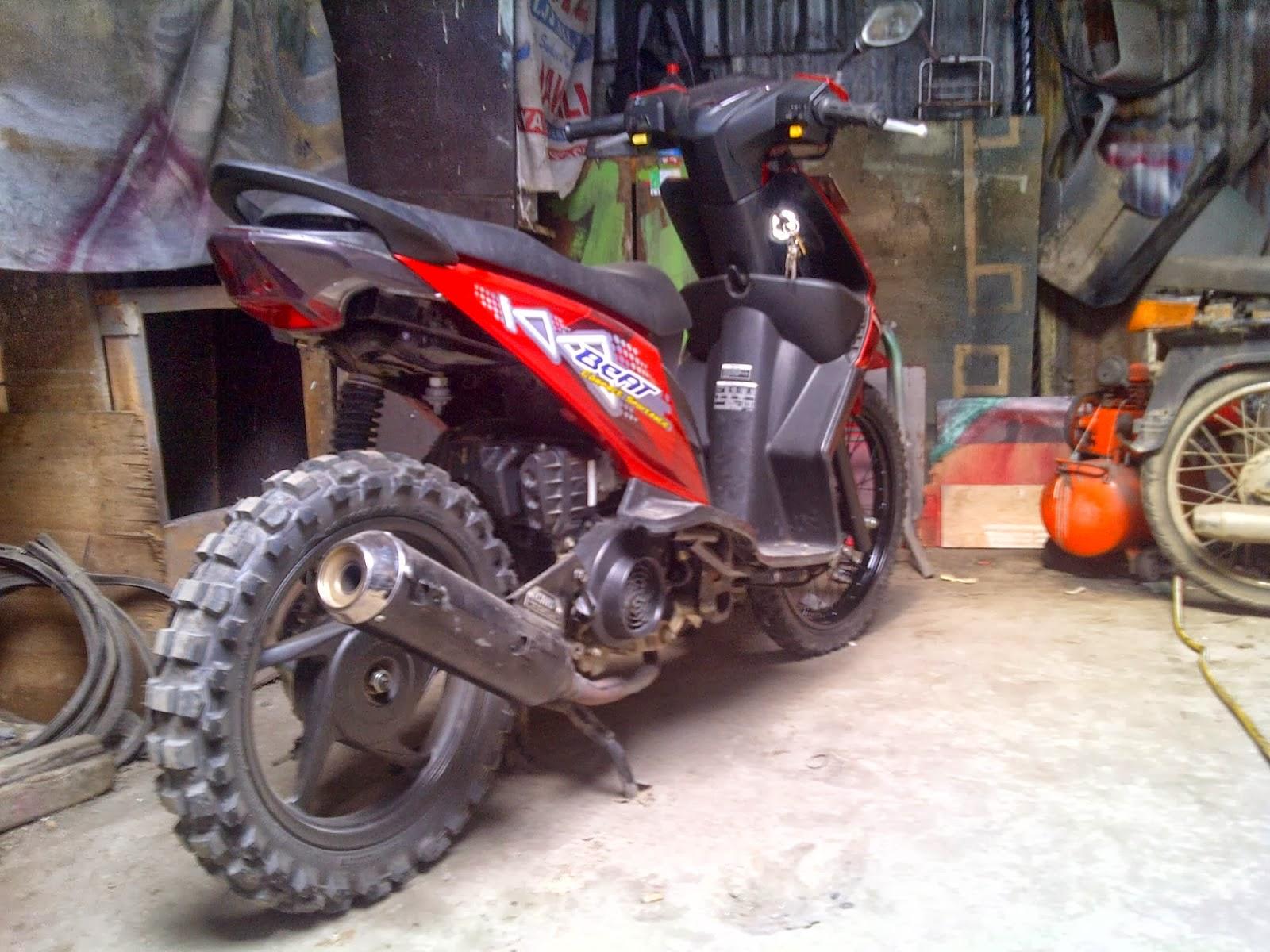 Gambar Modifikasi Yamaha F1zr Trail