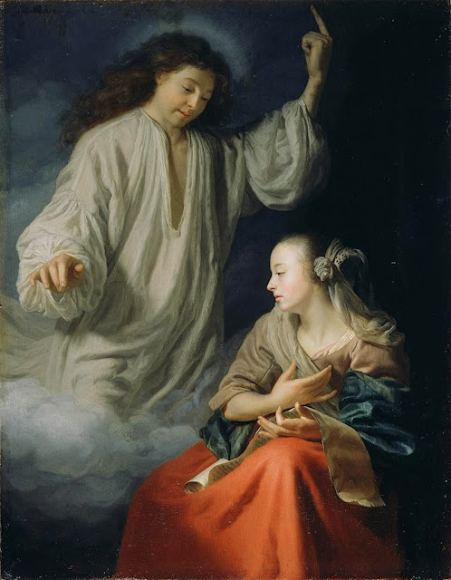 Godfried Schalcken - The Annunciation
