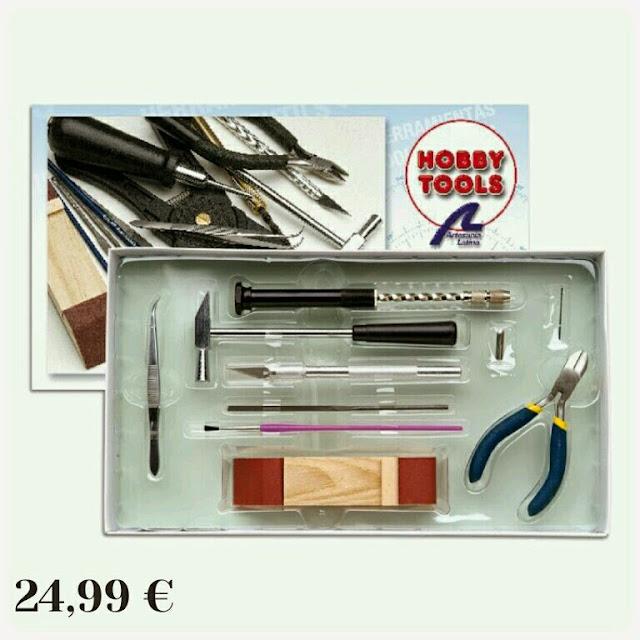Kit herramientas Hobby Tools