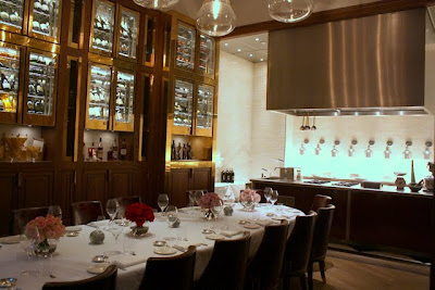 Private dining room in Massimo Restaurant at the Corinthia in London