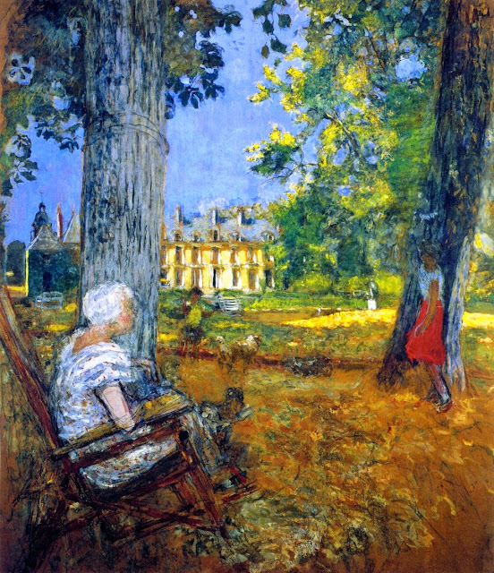 Édouard Vuillard - In the Park at the Château des Clayes