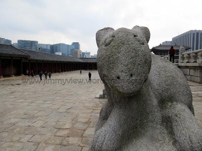 Cute stone sculpture. HELLO!