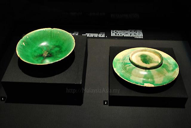 Green Porcelain Bowls Tang Dynasty