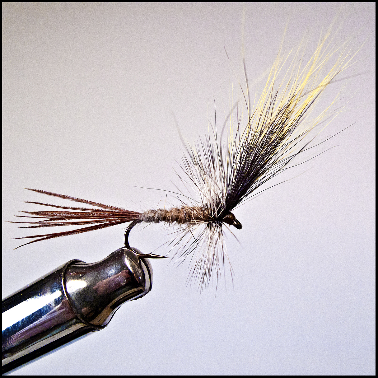 how to tie a dry fly