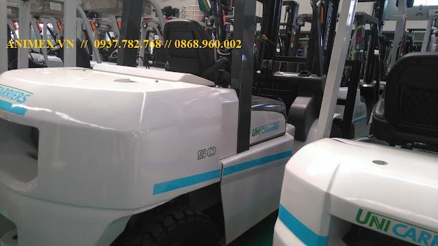 Xe nâng hàng 5 tấn Nhật Bản