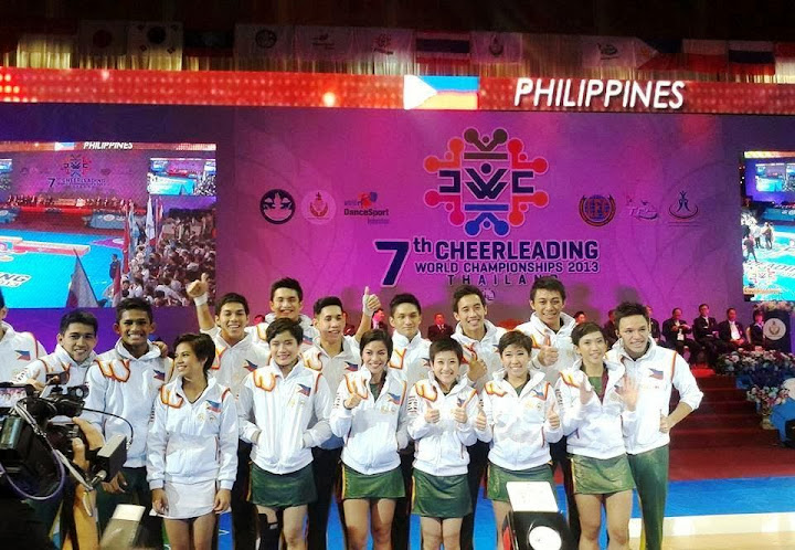 Philippines places 3rd in cheerleading world championships