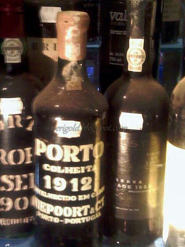 Винтажный портвейн - гордость Португалии