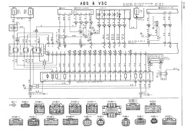 wiring diagram toyota supra mkiv