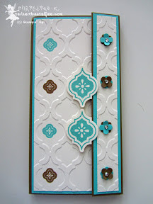 stampin up mosaic madness itty bitty