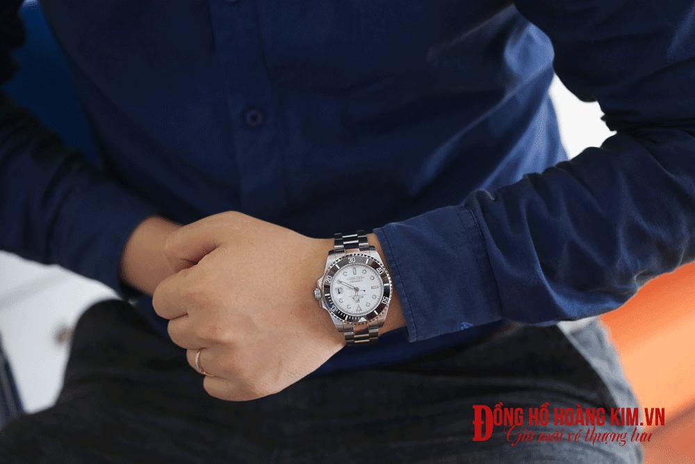 Địa chỉ bán những mẫu đồng hồ nam dây sắt đẹp nhất vịnh bắc bộ - 10