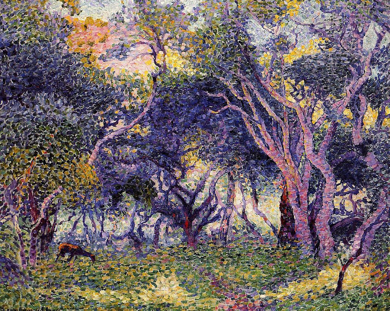 Henri-Edmond Cross - In the Woods
