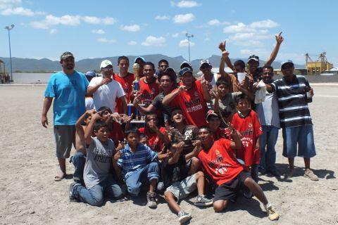 Equipo Jabatos del torneo de primera fuerza de la Liga Municipal de Futbol Soccer