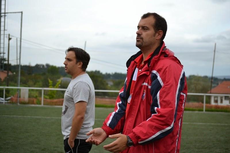 Numancia de Ares. Adestradores equipo alevíns.