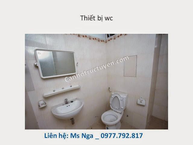 thiết bị vệ sinh căn hộ man thiện