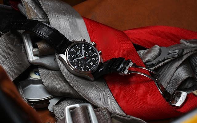 New Alpina Startimer Pilot Chronograph