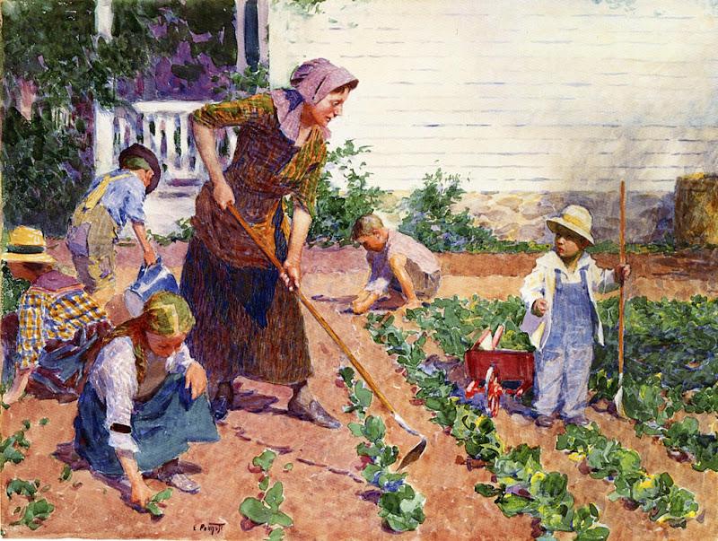 Edward Henry Potthast - In the Garden