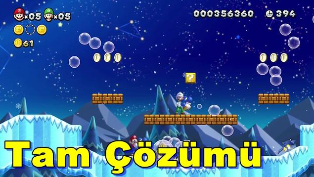 New Super Mario Bros. Wii U Tam Çözümü(Videolu)
