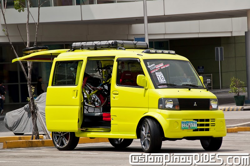 A Mitsubishi Minicab with Form AND Function Custom Pinoy Rides Car Photography Manila Philippines pic3