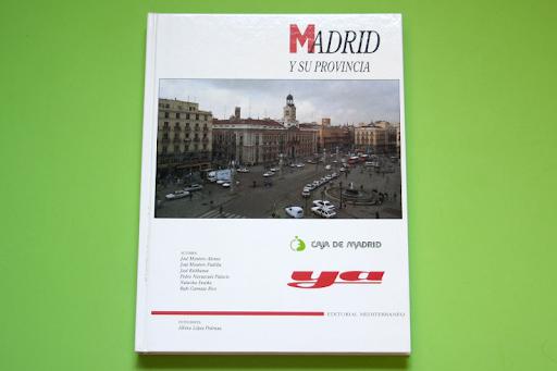 Libro MADRID Y SU PROVINCIA.  Vendo