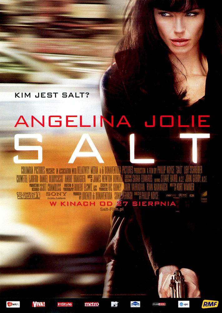 Ulotka filmu 'Salt (przód)'