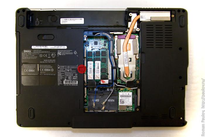 Как разобрать ноутбук Dell Inspiron 1525 5