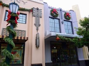 Disney  California Adventure Park decorations holiday Christmas