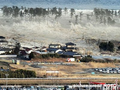 Gempa Bumi & Tsunami Di Jepun 2011 (Gambar)