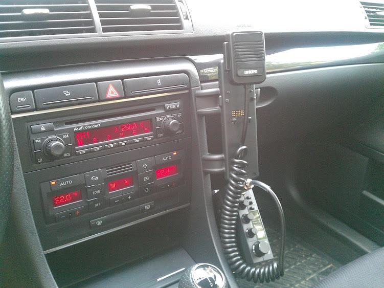 Montaż Cb Radio W Budzie B6b7 Strona 5 Audi A4 B6b7 Audi A4