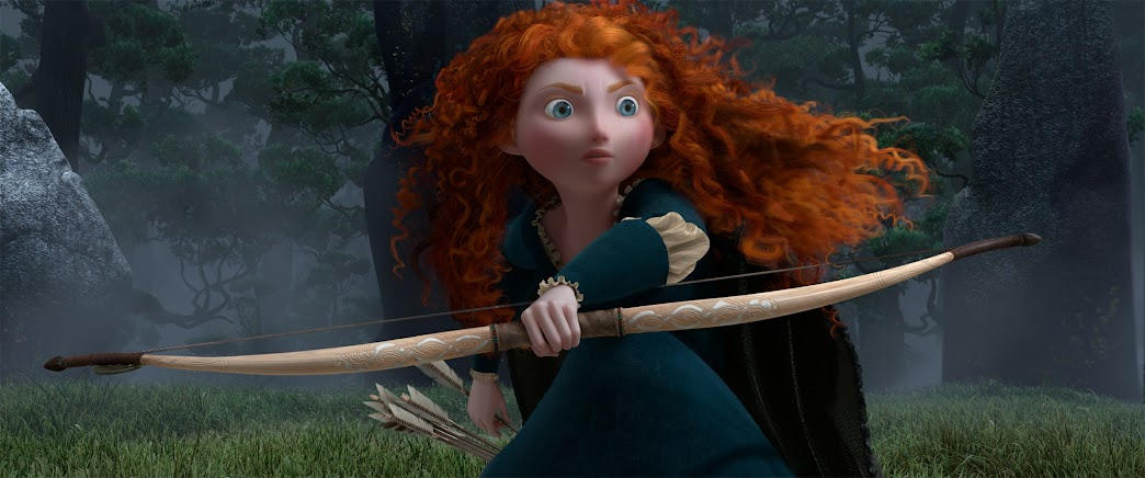 "Disney/Pixar's ""BRAVE"" - Merida faces Mor'du"