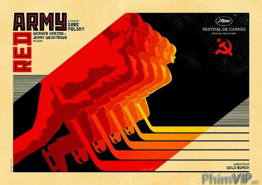 Đội Quân Đỏ - Red Army poster