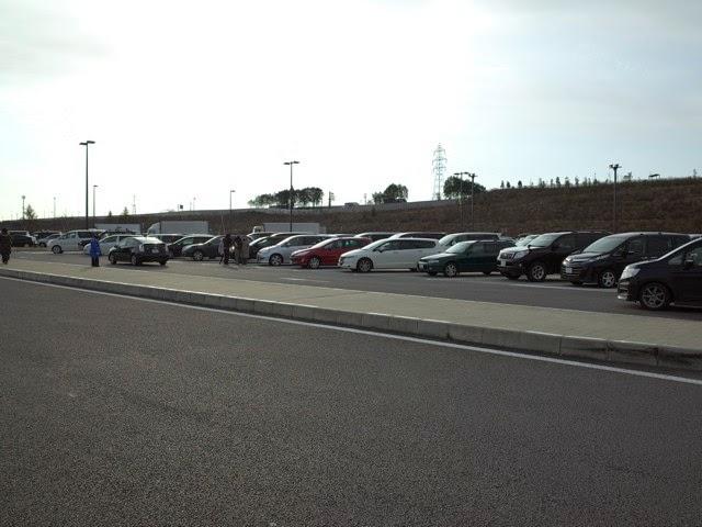 ネオパーサ浜松SAの駐車場