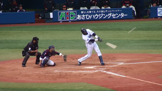 横浜DeNAベイスターズ トニ・ブランコ ホームラン