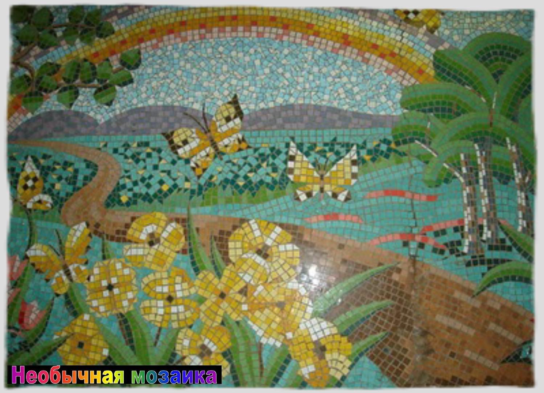 мозаики руками своими из детям панно