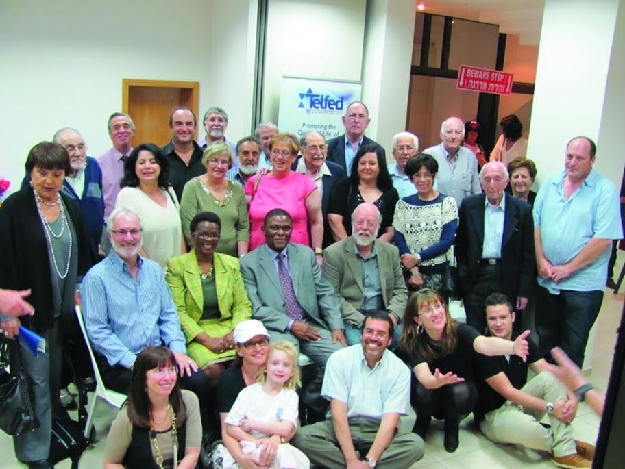 Telfed welcomes new SA Ambassador to Israel