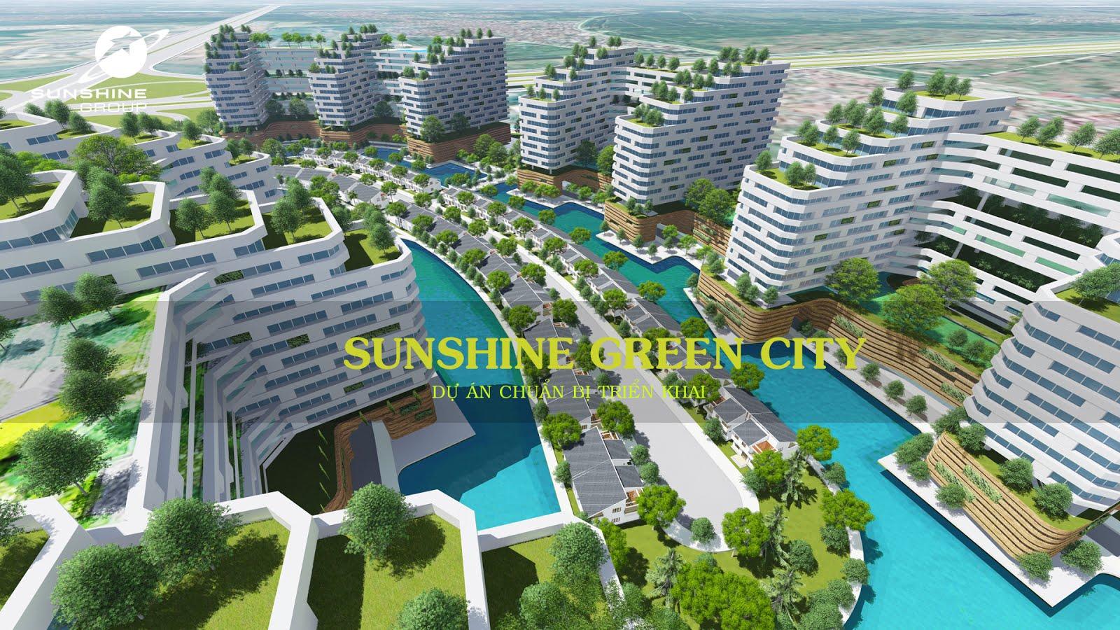 Phối cảnh Sunshine Green City